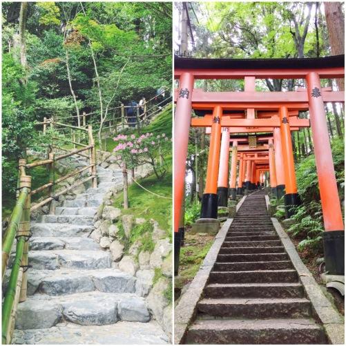Ginkakuji and Fushimi Inari